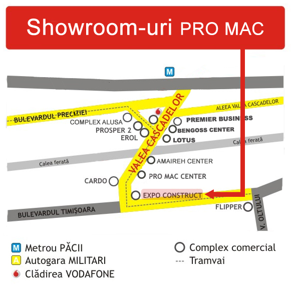 Showroom In Complex Expo Construct