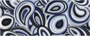 Placa decor 20 x 50 Luce Cobalt